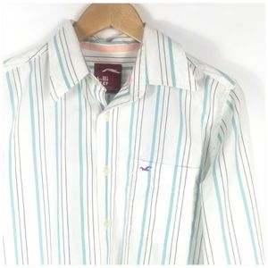 Hollister Mens Casual Button Down Shirt Medium